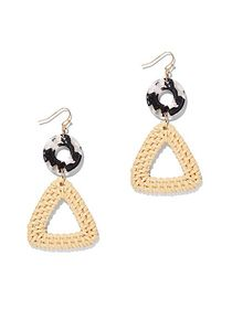 Geo Double-Drop Earring - New York & Company
