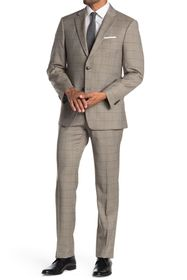 Tommy Hilfiger Window Pane Two Button Notch Lapel