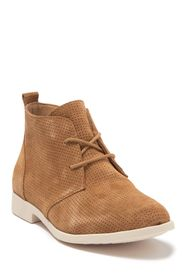 Born Bazu Perforated Suede Chukka Boot