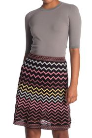M Missoni Elbow Sleeve Knit Sweater