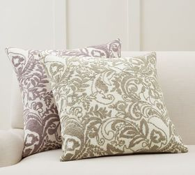 Pottery Barn Quinn Paisley Embroidered Pillow Cove