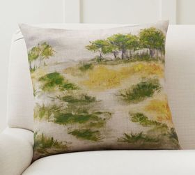 Pottery Barn Painted Woods Pillow Cover