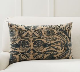 Pottery Barn Marilyn Printed Lumbar Pillow Cover