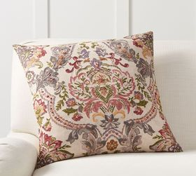 Pottery Barn Wendy Embroidered Pillow Cover