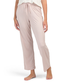 TAHARI Striped Pj Pants