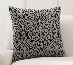 Pottery Barn Evan Jacquard Pillow Cover