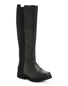 Reveal Designer Leather Knee High Boots