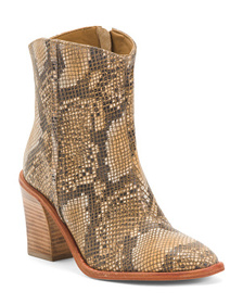 FREE PEOPLE Barclay Leather Ankle Boots