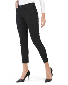 Juniors Mid Rise Ankle Skinny Jeans