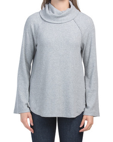 Made In Usa Turtleneck Raglan Sweater