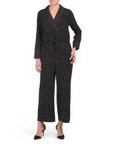 Celebration Sparkle Embellished Jumpsuit