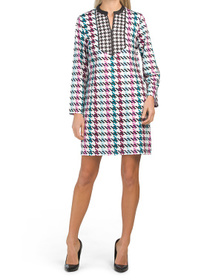Brenda Printed Tunic Jersey Dress