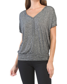 Dolman Sleeve Jersey Top