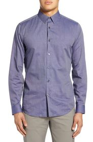 Theory Sylvain Allis Slim Fit Button-Up Shirt
