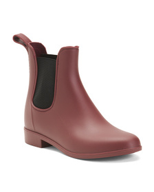 Elastic Gore Slip-on Rain Booties
