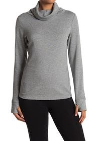 PUMA Cowl Neck Thumbhole Sweater