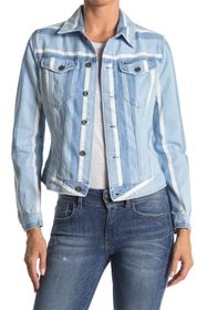 G-STAR RAW 3301 Striped Slim Denim Jacket