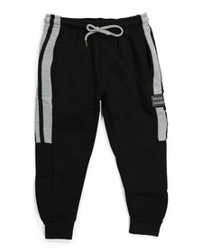 Little Boys Striped Joggers