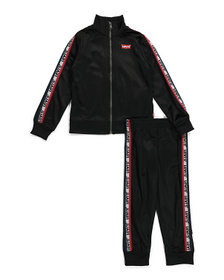 Little Boys Tricot Jacket And Pant Set