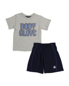 Little Boys 2pc Active Short Set