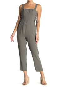 BCBGeneration Side Panel Laced Up Jumpsuit
