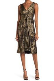 Bailey 44 Sofia Twist Front Jacquard Dress