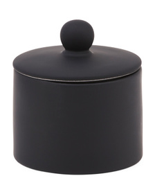 Rubberized Soft Touch Canister