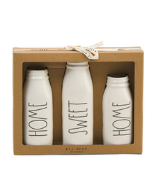 Home Sweet Home Bud Vase Set