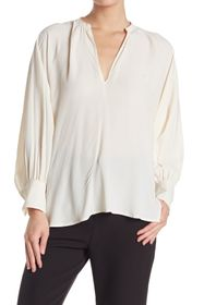 SEVENTY VENEZIA Split Neck Blouse