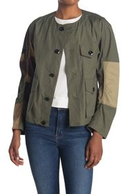 G-STAR RAW Aefon Camo Patchwork Overshirt