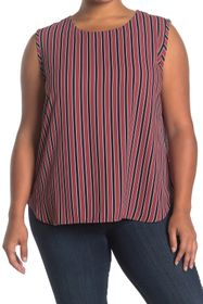 Anne Klein Carlyle Stripe Sleeveless Tank