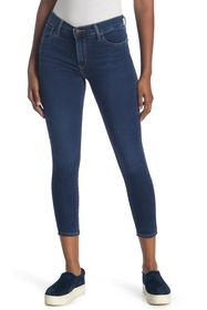 Levi's 720 High Waisted Crop Skinny Jeans
