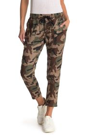 True Religion Camo High Waisted Rolled Ankle Crop