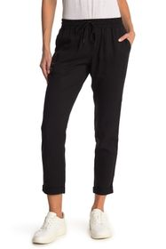 True Religion High Waist Rolled Ankle Crop Joggers