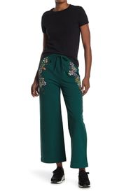 LOVE Moschino Trousers With Embroideries