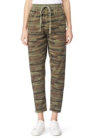 C & C California Madelyn Faded Effect Pants