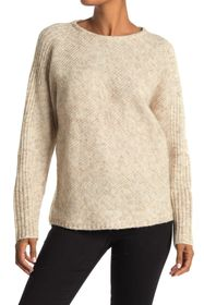 Max Studio Ribbed Knit Pullover Sweater