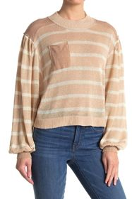 Free People Between The Lines Pullover Sweater