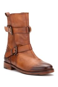 Vintage Foundry Sherry Buckled Leather Boot