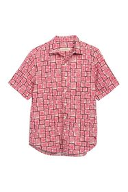 Tommy Bahama Short Sleeve Tonga Tiles Print Shirt