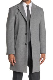 Tommy Hilfiger Button Front Overcoat