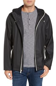 Cole Haan Rubberized Hooded Jacket