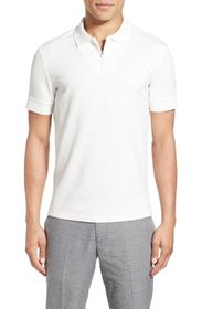 Vince Camuto Trim Fit Mesh Polo