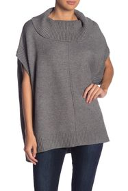 Love Token Pullover Sleeveless Poncho Sweater