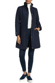 Cole Haan Zip Front Quilted Jacket