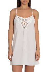 In Bloom by Jonquil Flying Lace Trim Chemise