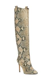 Vince Camuto Kervana Embossed Knee High Leather Bo