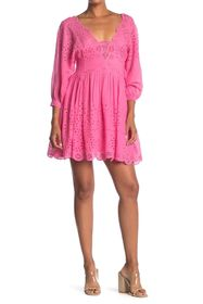 Free People Lottie Eyelet Dress