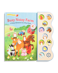 COTTAGE DOOR Busy Noisy 10 Button Sound Board Book