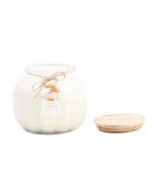 SCENT GALLERY CANDLES 35oz Large White Pumpkin Can